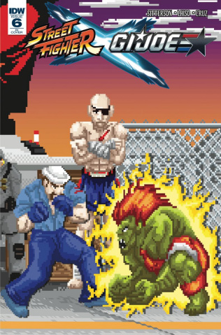 Street Fighter X G.I. Joe #6 (10 Copy Cover)