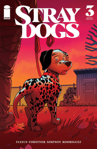 Stray Dogs #3 (2nd Printing)