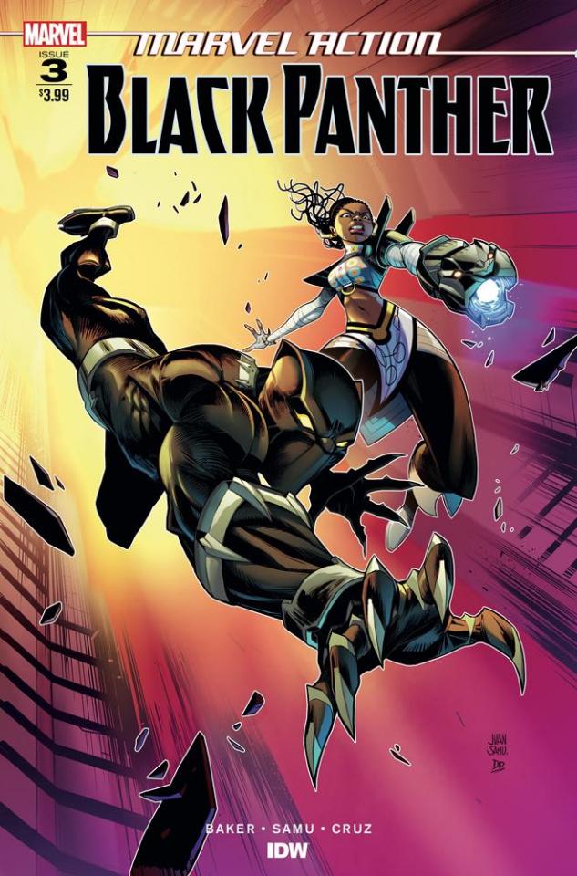 Marvel Action: Black Panther #3 (Samu Cover)