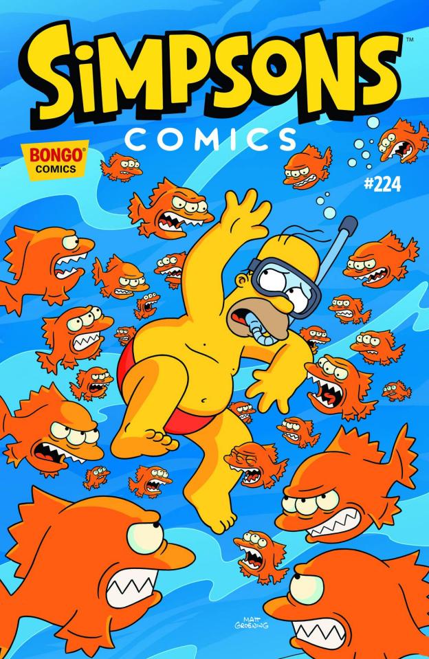 Simpsons Comics #224