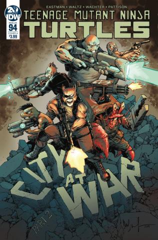 Teenage Mutant Ninja Turtles #94 (Wachter Cover)
