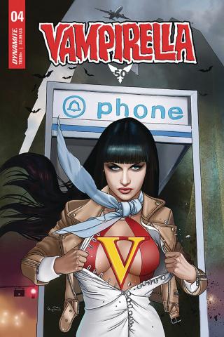 Vampirella #4 (Gunduz Cover)