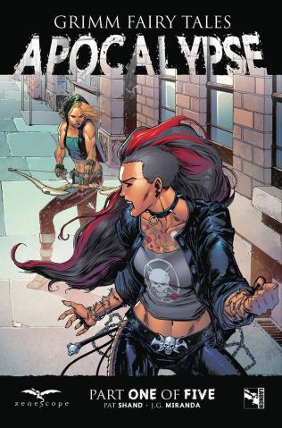 Grimm Fairy Tales: Apocalypse #1 (Brescini Cover)