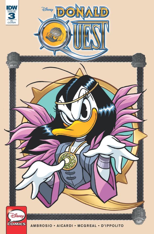 Donald Quest #3 (10 Copy Cover)