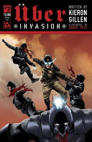 Über: Invasion #2 (Blitzkreig Cover)