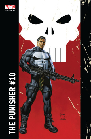 The Punisher #10 (Jusko Corner Box Cover)