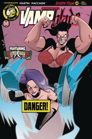 Vampblade, Season Four #11 (Maccagni Risque Cover)
