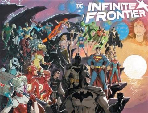 Infinite Frontier #0 (Dan Jurgens & Mikel Janin Wraparound Cover)