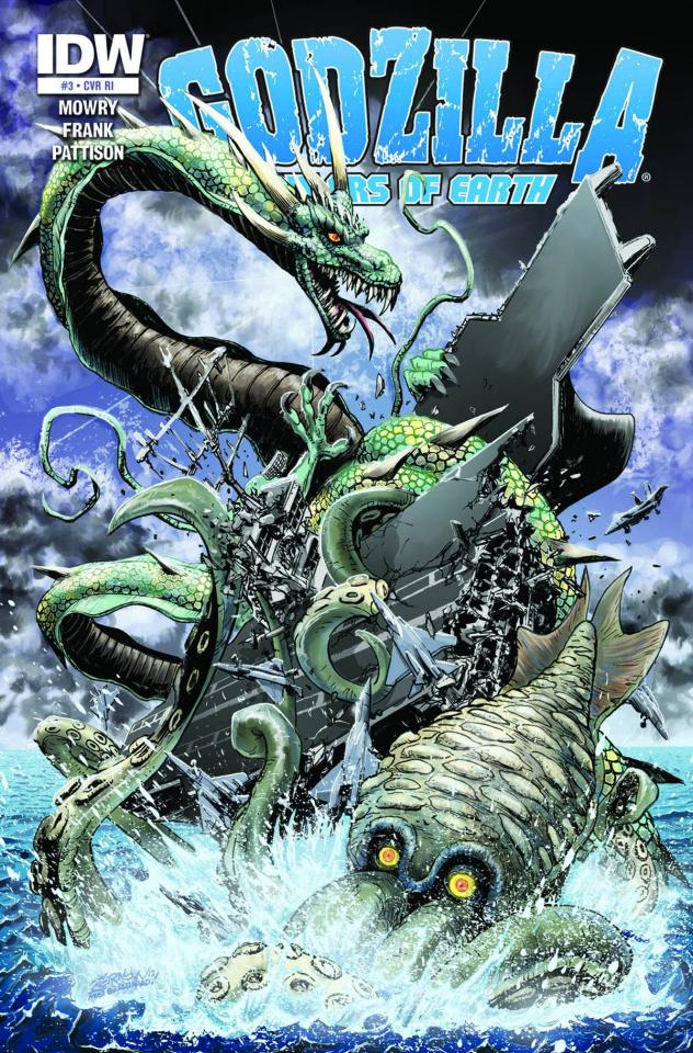 Godzilla: Rulers of Earth #3