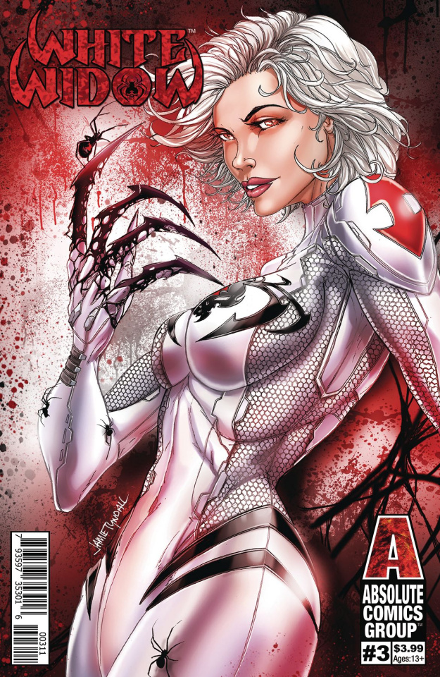 White Widow #3 (Tyndal Foil Cover)