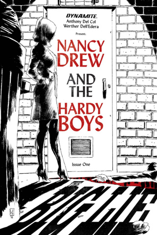 Nancy Drew and The Hardy Boys #1 (Delledera Cover)