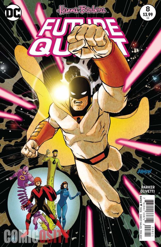 Future Quest #8 (Variant Cover)