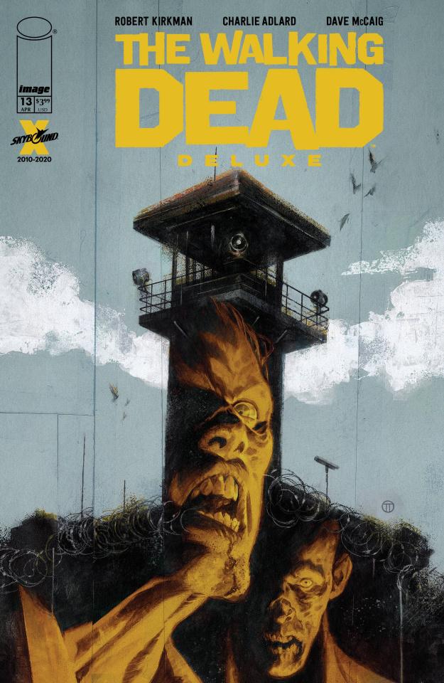 The Walking Dead Deluxe #13 (Tedesco Cover)