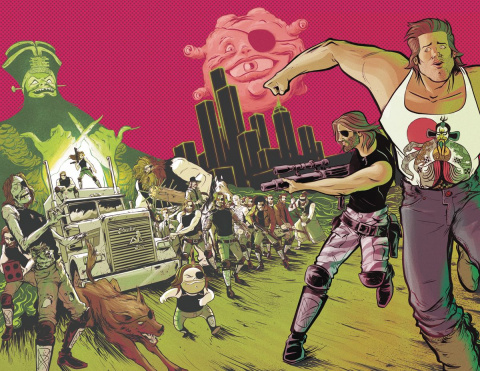 Big Trouble in Little China / Escape from New York #3