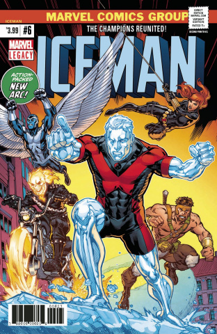 Iceman #6 (2nd Printing Ryan Cover)