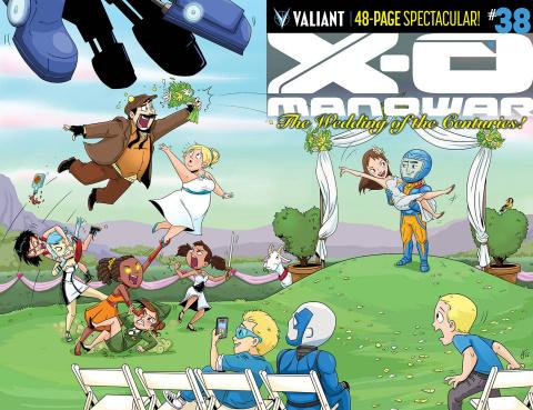 X-O Manowar #38 (20 Copy Fabares Cover)