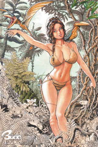 Cavewoman: Destination Jungle #1 (Root Cover)