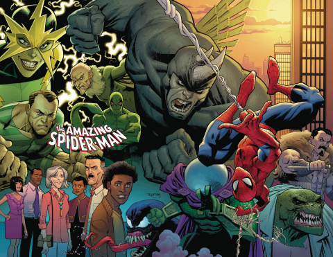 The Amazing Spider-Man #1 (Ottley Virgin Cover)