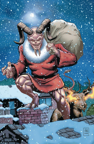 Grimm Fairy Tales 2017 Holiday Special (Spay Cover)