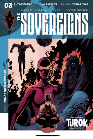 The Sovereigns #3 (Burnett Cover)