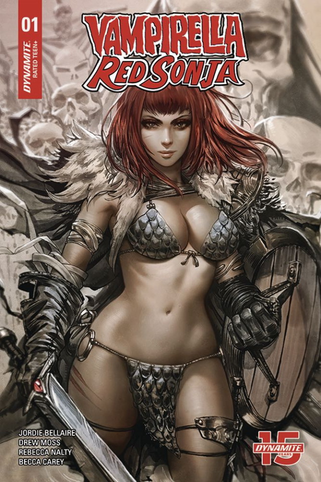 Vampirella / Red Sonja #1 (15 Copy Chew Cover)