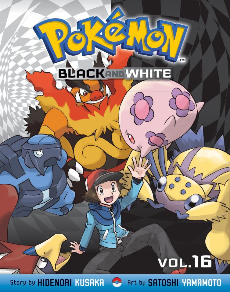 Pokémon: Black & White Vol. 16