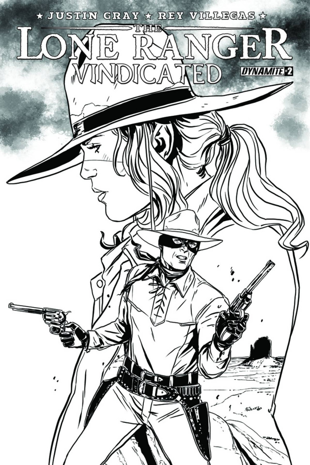 The Lone Ranger: Vindicated #2 (10 Copy Laming Cover)