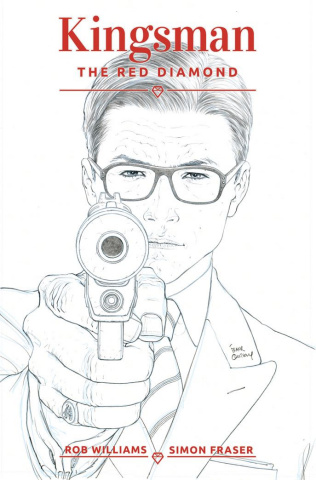 Kingsman: The Red Diamond #1 (Fraser Ink Cover)