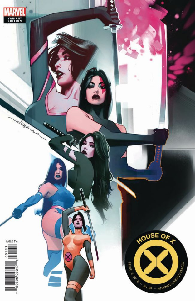 House of X #3 (Dekal Character Decades Cover)