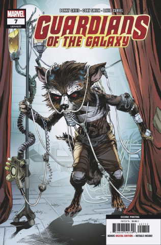 Guardians of the Galaxy #7 (Smith 2nd Printing)
