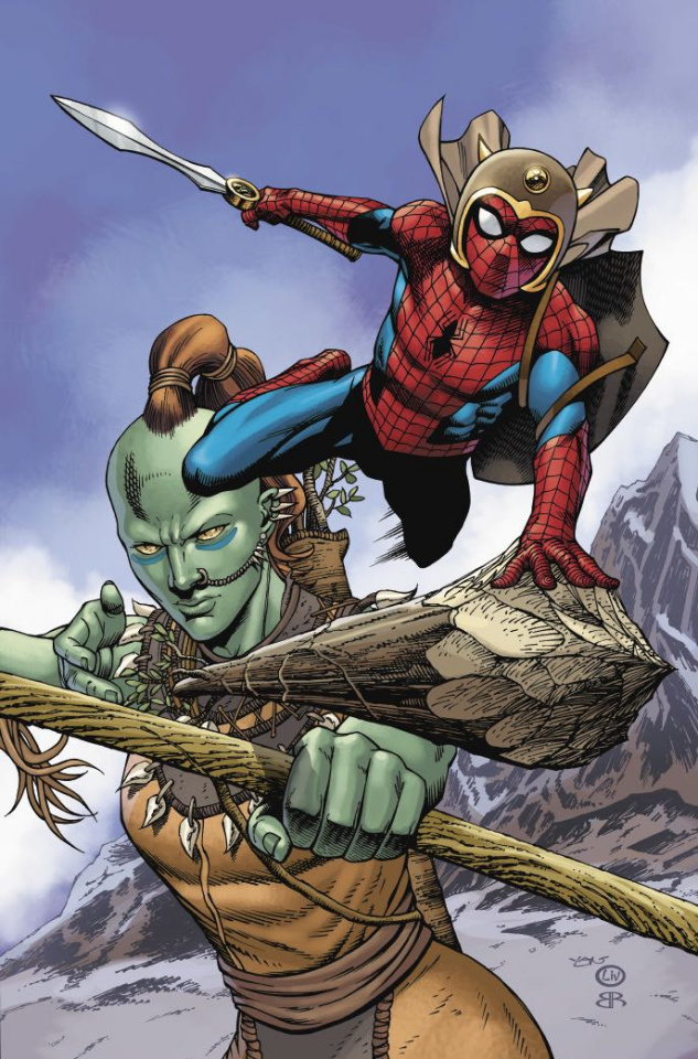 The War of the Realms: Spider-Man & The League of Realms #2 (Variant Cover)