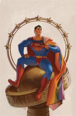 Superman #32 (David Talaski Pride Month Card Stock Cover)