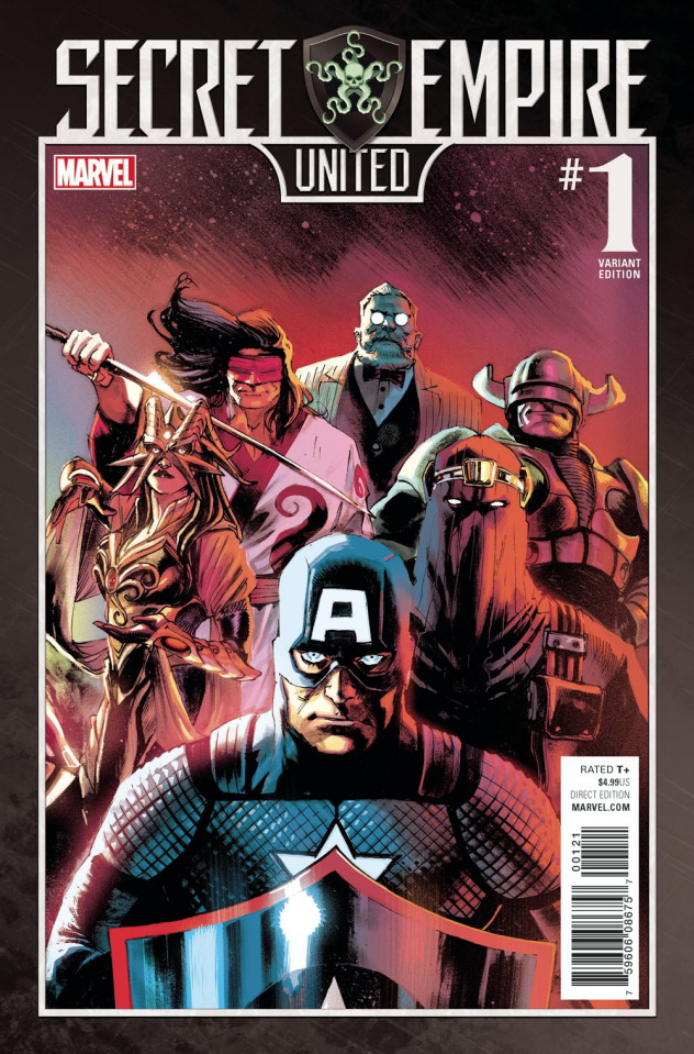 Secret Empire: United #1 (Albuquerque Cover)