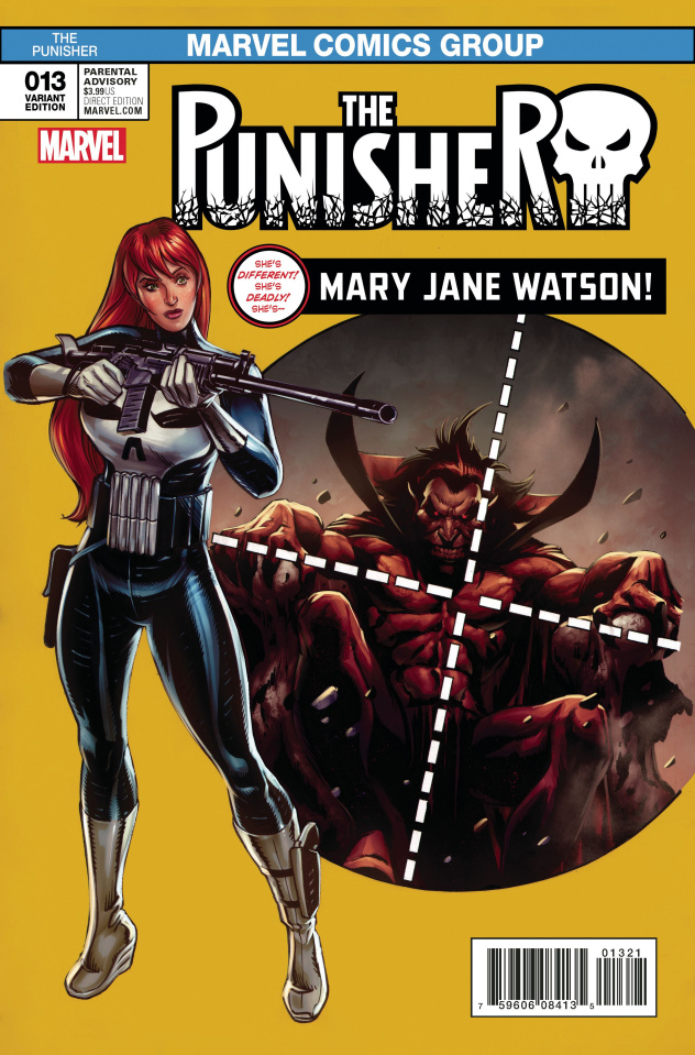The Punisher #13 (Williams Mary Jane Cover)