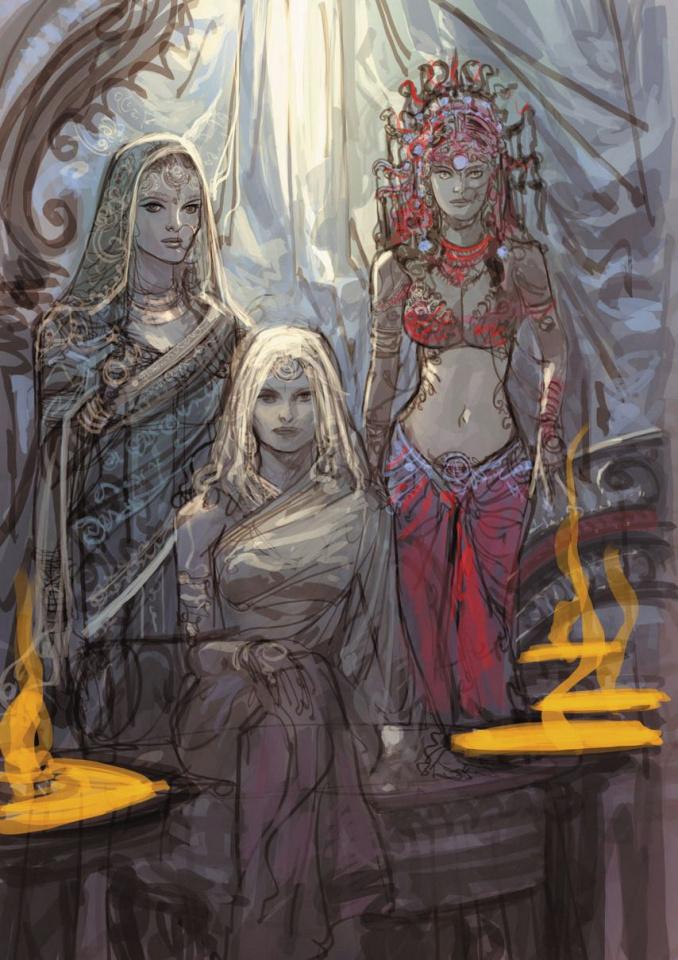 18 Days #14 (Goddesses Cover)