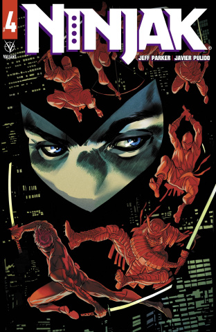 Ninjak #4 (Dagnino Cover)