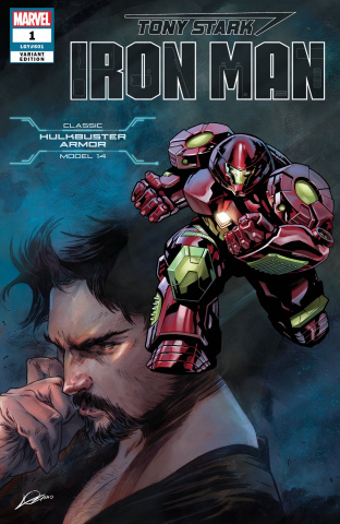 Tony Stark: Iron Man #1 (Hulkbuster Armor Cover)