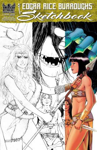 Edgar Rice Burroughs Sketchbook 2021 #1 (Cover B)