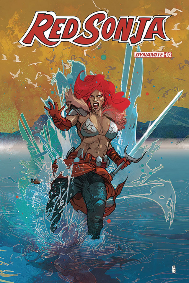 Red Sonja #2 (Ward Cover)