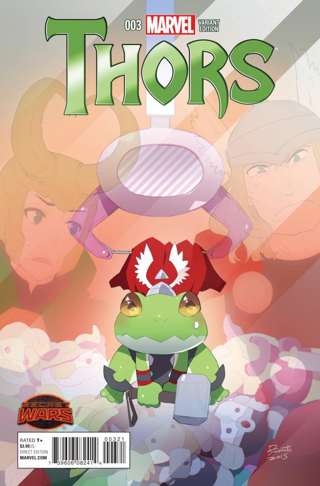 Thors #3 (Moto Manga Cover)