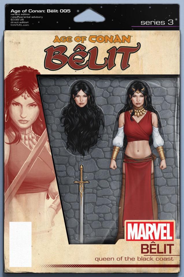 Age of Conan: Bêlit #5 (Christopher Action Figure Cover)