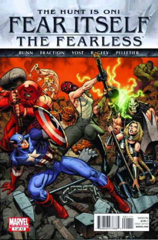 Fear Itself: The Fearless #1 (2nd Printing)