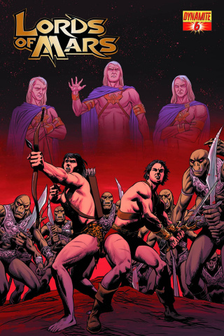 Lords of Mars #6 (Malaga Cover)