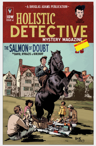 Dirk Gently's Holistic Detective Agency: The Salmon of Doubt #1