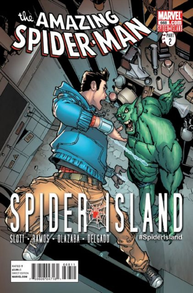 The Amazing Spider-Man #668 (2nd Printing)