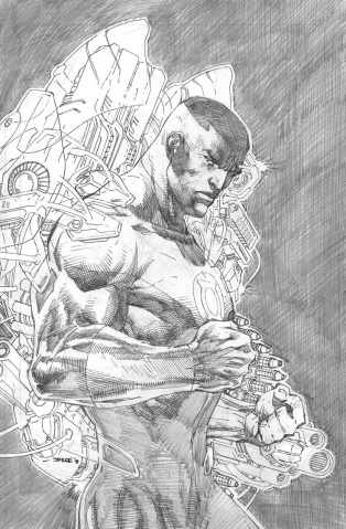 Justice League #6 (Jim Lee Pencils Cover)