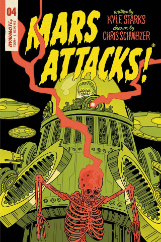 Mars Attacks #4 (Schweizer Cover)