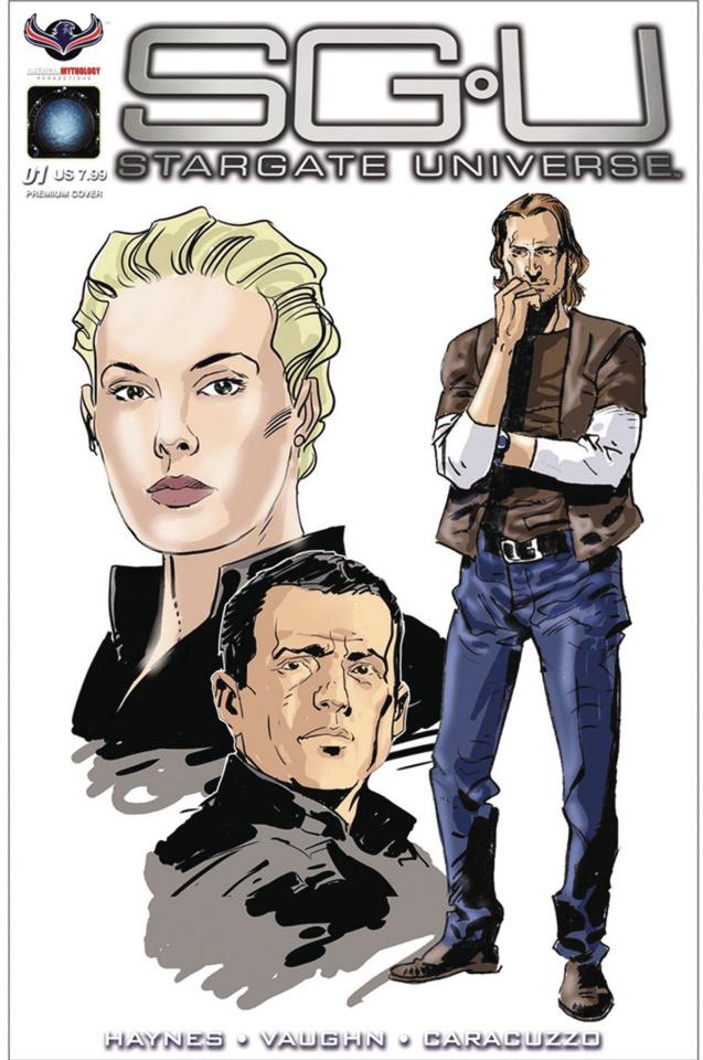 Stargate Universe: Back to Destiny #1 (Caracuzzo Cover)