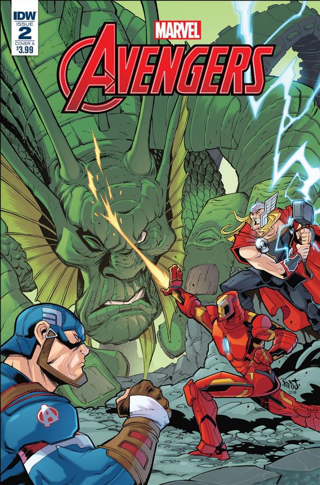 Marvel Action: Avengers #2 (Sommariva Cover)