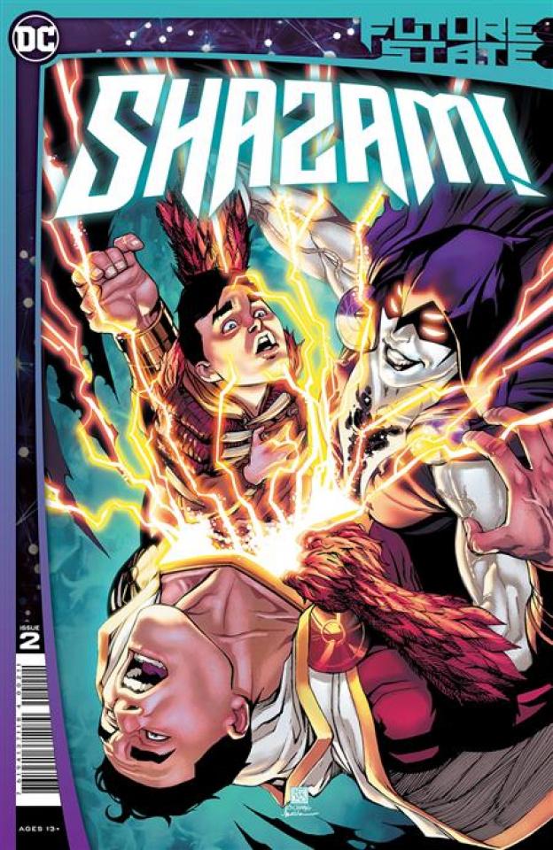 Future State: Shazam! #2 (Bernard Chang Cover)